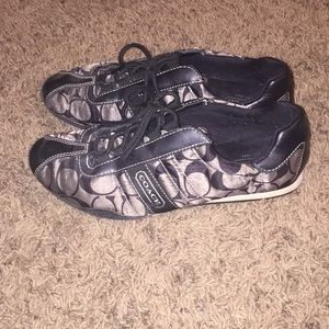 Gently used size 7.5 coach sneakers